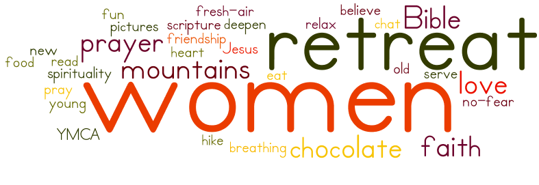 women retreat wordle