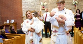 Luke and Lily's Baptism